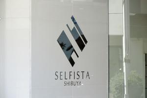セルフィスタ渋谷の看板