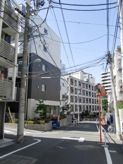 リヴシティ西早稲田の外観