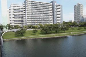 小松川パークマンションの外観