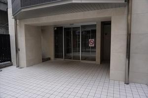 ジェノヴィア浅草駅前スカイガーデンのエントランス