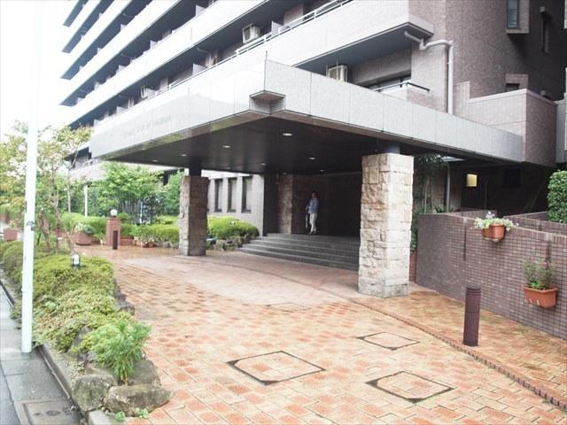 コスモ住吉扇橋のエントランス