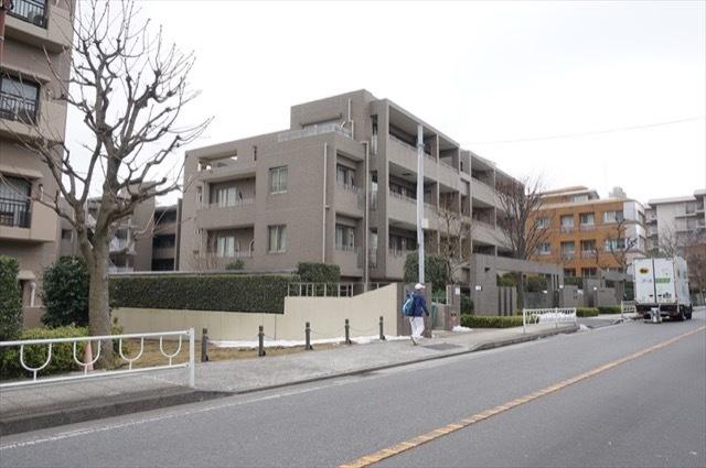 グランツオーベル横浜山手の外観