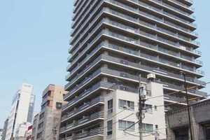 ライオンズタワー上野黒門町の外観