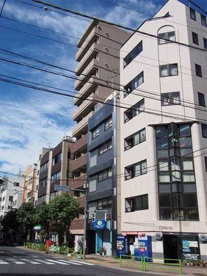 ドルチェ銀座東壱番館の外観