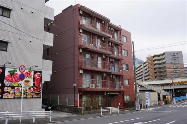 ライオンズマンション神奈川新町の外観