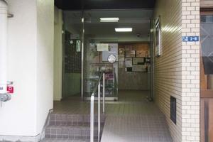 サンパーク東京銀座のエントランス