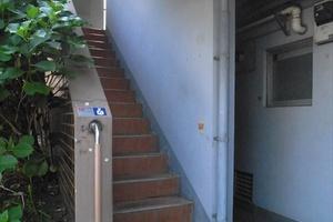富士ビューマンション(中野区)のエントランス