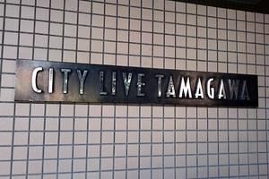 シティライブ多摩川の看板