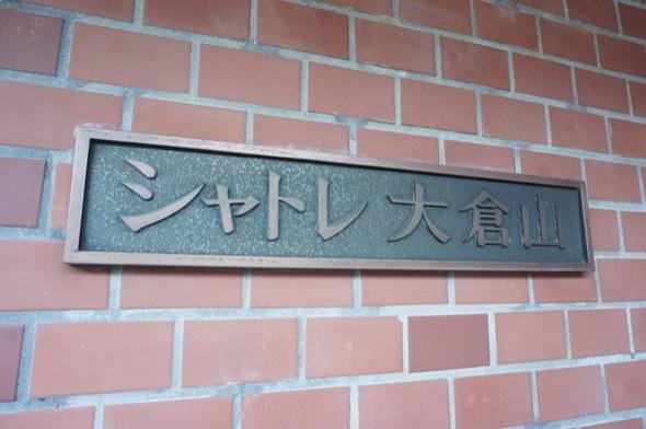 シャトレ大倉山の看板