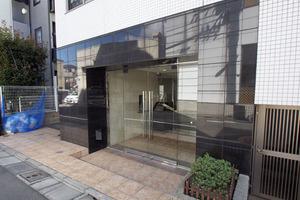 アルテシモ志村坂上のエントランス
