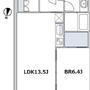 赤坂タワーレジデンストップオブザヒルの間取り