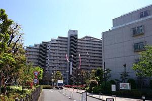 多摩川芙蓉ハイツ(1〜4号棟)の外観