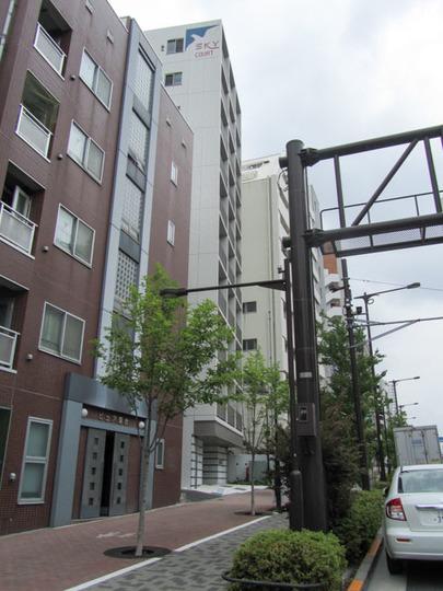 スカイコート新宿落合壱番館の外観