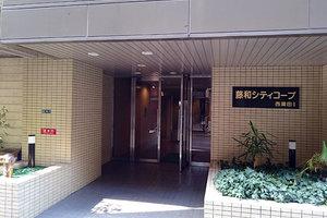藤和シティコープ西蒲田1のエントランス