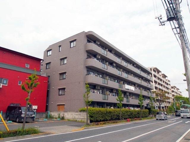 グリーンキャピタル西新井の外観