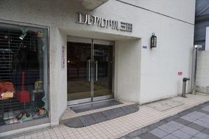 エル・アルカサル三田のエントランス