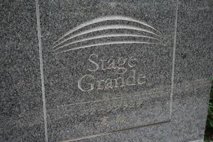 ステージグランデ高輪の看板