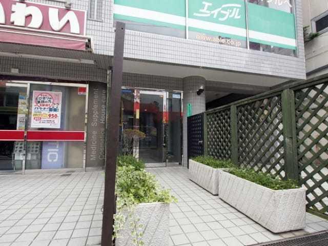 21オギサカ志村坂上のエントランス