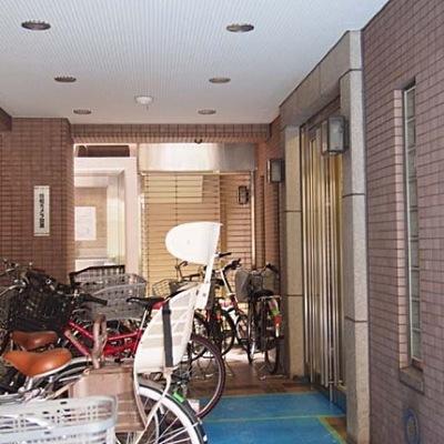 グランドメゾン寿田原町のエントランス