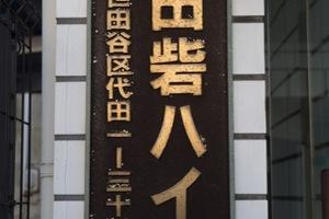代田砦ハイムの看板