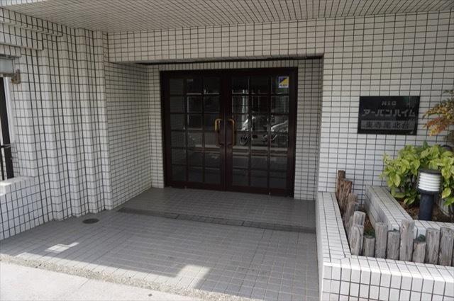 ニックアーバンハイム東寺尾北台のエントランス