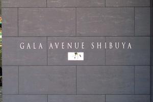 ガーラアヴェニュー渋谷の看板