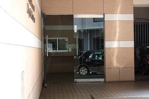 田端新町ロイヤルマンションのエントランス