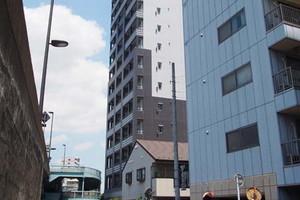 プレールドゥーク東京イースト4リバーサイドの外観