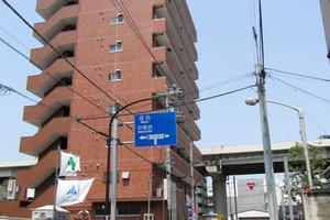 ライオンズマンション飯田橋の外観