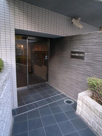 リヴシティ文京本郷のエントランス