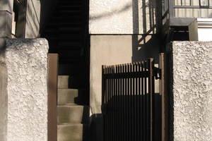 白金ハウス(港区白金5丁目)のエントランス