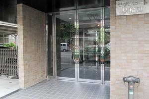 サザンコート早稲田のエントランス