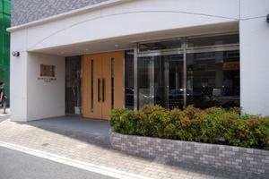 ガーデンフィール新小岩弐番館のエントランス