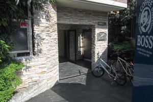 プレールドゥーク西新宿2のエントランス