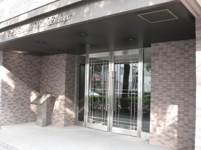 メゾン・ド・ヴィレ渋谷のエントランス
