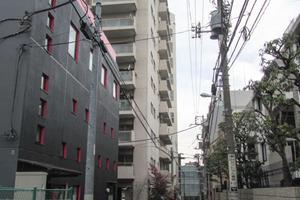 松濤ハイツ(渋谷区)の外観