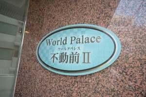 ワールドパレス不動前2の看板