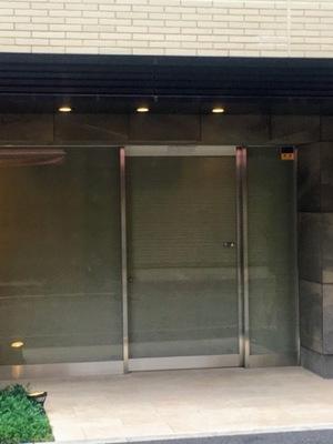オープンレジデンシア銀座二丁目のエントランス
