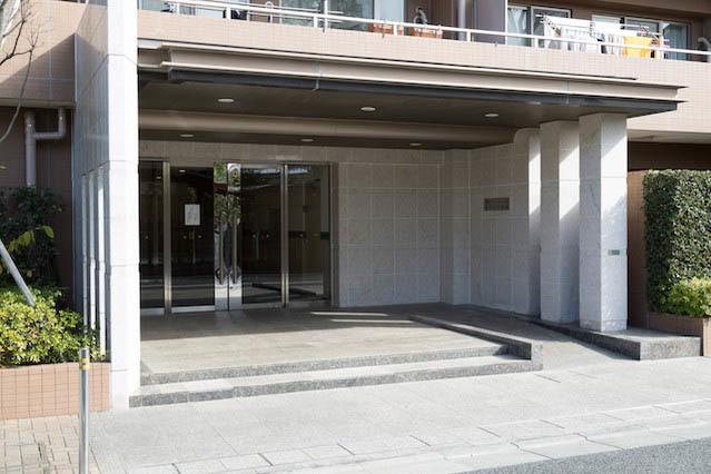 藤和シティホームズ世田谷千歳台のエントランス