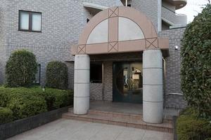ユニオンパレス吉祥寺北弐番館のエントランス