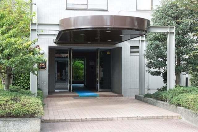 武蔵境パークハウスのエントランス