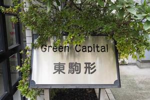 グリーンキャピタル東駒形の看板