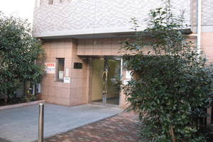 スカイコート目黒壱番館のエントランス