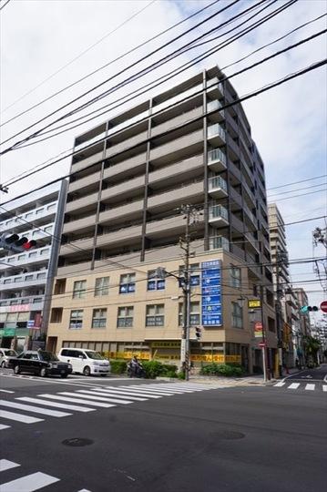 グローリオ横浜阪東橋マリスの外観