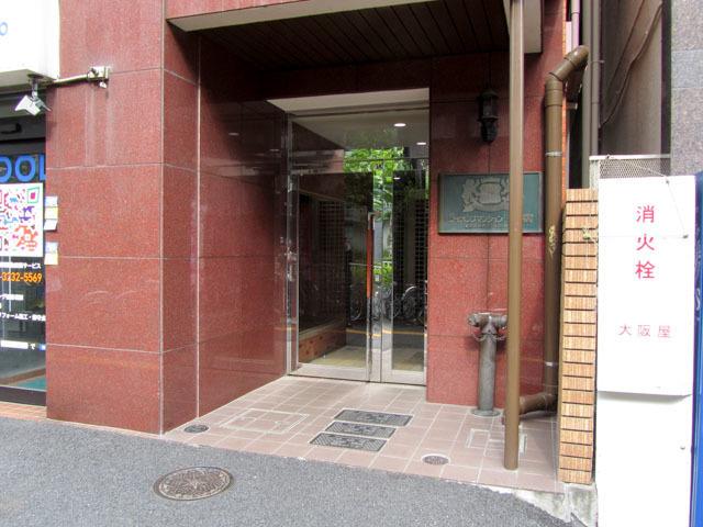 ライオンズマンション新宿のエントランス