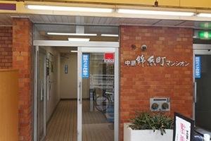 中銀錦糸町マンシオンのエントランス
