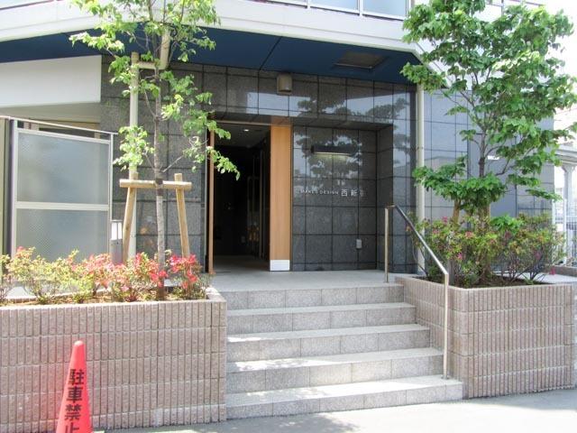 メイクスデザイン西新宿のエントランス