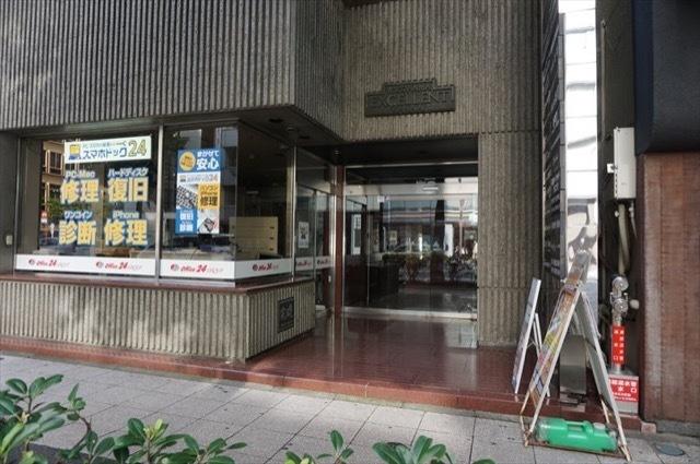 横浜エクセレント関内のエントランス