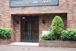 アヴァンティーク銀座2丁目参番館のエントランス