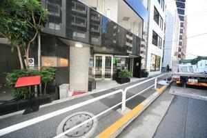 メインステージ五反田駅前のエントランス